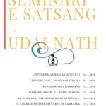 Seminari e Satsang 2018 con Udai Nath